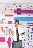 Engineer- planner — Stock Photo