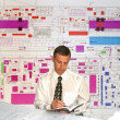 Engineer- planner - Stock Photo