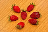 Ripe horticultural strawberry — Stock Photo