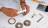 Instrumento de medición — Foto de Stock