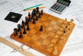 Schach — Stockfoto
