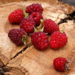 Appetizing raspberry - Stock Photo