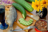 Appetizing snack — Stock Photo