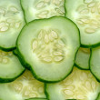 Stock Photo: Green cucumber