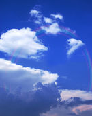Sky rainbow — Stock Photo