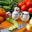 Appetizing vegetables food — Foto de Stock