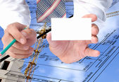 New energy technology-it is our visiting card in construction — Stock Photo