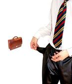Riesgo en los negocios de finanzas — Foto de Stock