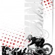 Bike vertical background — Grafika wektorowa