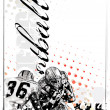 Royalty-Free Stock Vectorielle: American football background