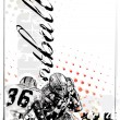 Royalty-Free Stock Imagen vectorial: American football background