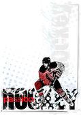 Ice hockey background 3 — Stock Vector