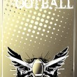 Royalty-Free Stock Imagen vectorial: American football background 3