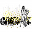 Cricket 2 — Vector de stock