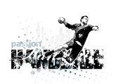 Handball 1 — Stock Vector