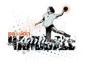 Handball 3 — Stock Vector