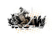 Horse 2 — Stock Vector