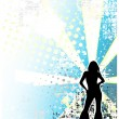 Royalty-Free Stock Vector Image: Disco poster background 2