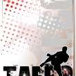 Taebo silver poster background 1 — Stock Vector #2905668