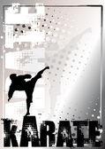 Karate 2 — Stock Vector