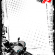 Motorbike background - Imagen vectorial