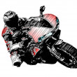 Royalty-Free Stock Vector Image: Motorbike
