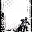 motor cross — Stockvector #3038040