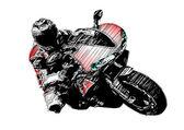 Motorbike — Stock Vector
