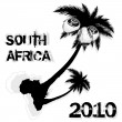 South africa 2010 — Stock Vector