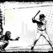 Baseball background 3 — Imagen vectorial