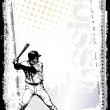 Royalty-Free Stock Vector Image: Baseball poster background 3