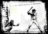 Baseball background 3 — Stock Vector