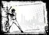 Baseball background 2 — Stock Vector