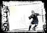Soccer background 2 — Stock Vector