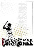 Baseball poster background 2 — Stock Vector
