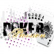 Royalty-Free Stock Векторное изображение: Poker background