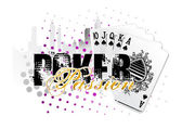 Poker background — Wektor stockowy
