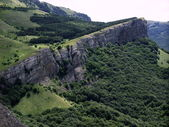 The Crimean mountains. — Stock Photo