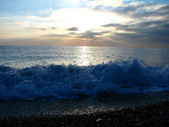 Sea surf. — Stock Photo
