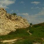 Ruins Sevastopol coast of Chersonese. — Stock Photo #3123866