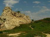 Ruins Sevastopol coast of Chersonese. — Stock Photo