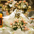 Wedding banquet table - Stock Photo