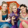 Party for girls — Stock Photo