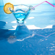 Royalty-Free Stock Photo: Swimming pool drink