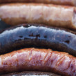 Royalty-Free Stock Photo: Delicious grilled sausages