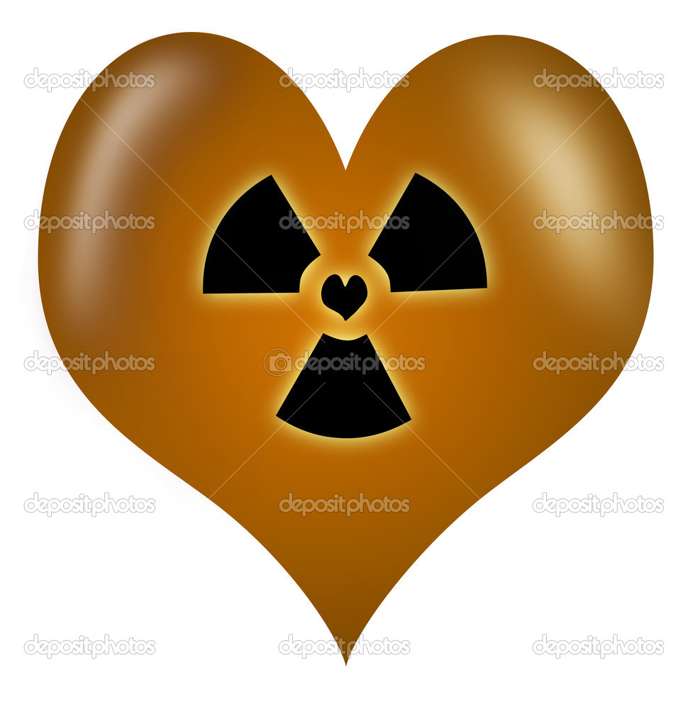 Toxic Love heart made as a vector — Stock Photo #2926390