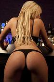 Chica sexy en el club — Foto de Stock