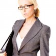 Business blonde woman — Stock Photo #3022048