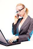 Business comunications — Stock Photo