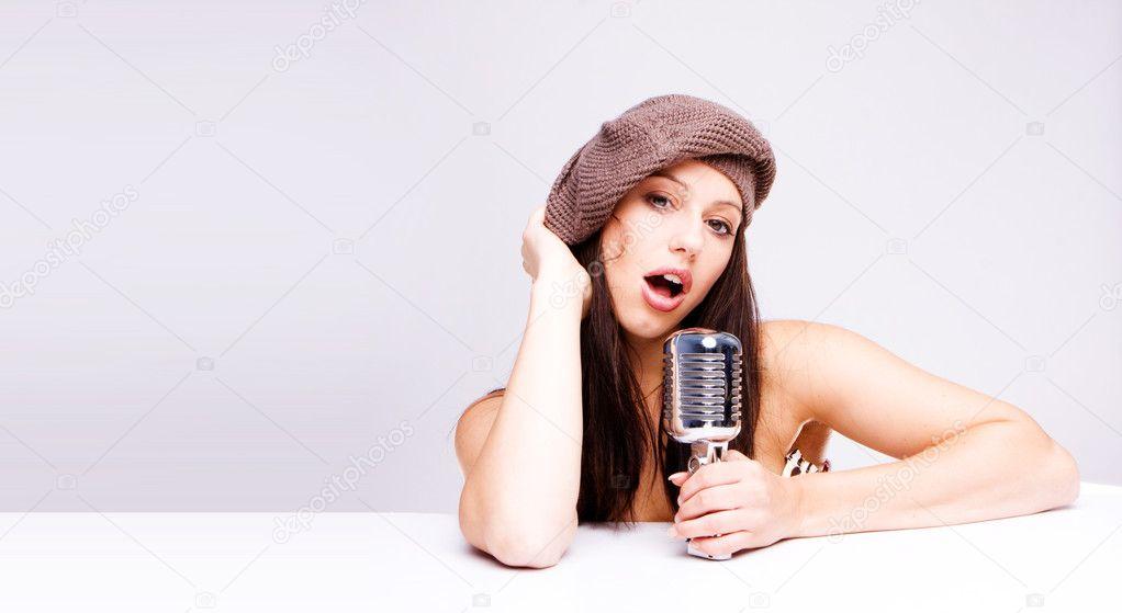 singing the girl retro - photo #26